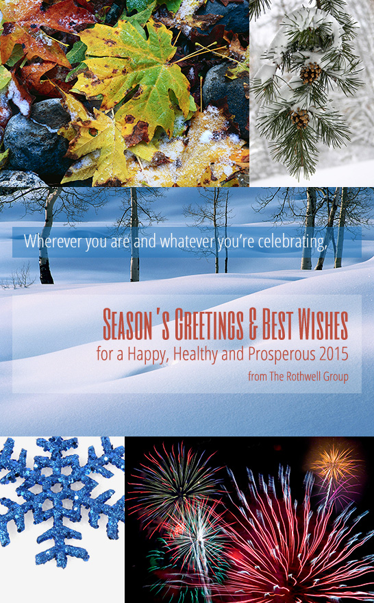 Season's Greetings and Best Wishes from The Rothwell Group